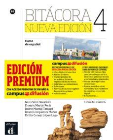 bitacora 4 nueva edición libro del alumno + mp3 (versión premium)-9788417249595