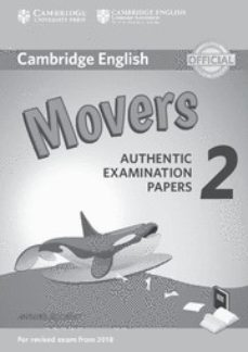 cambridge english: (2018 exam) movers 2 answer booklet-9781316636275