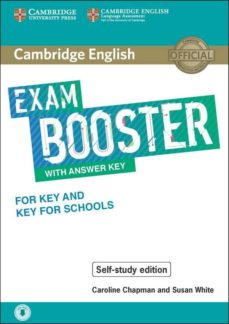cambridge english exam booster with answer key for key and key for school-9781108590297