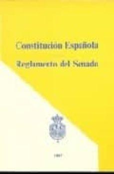 constitucion española: reglamento del senado-9788488802057