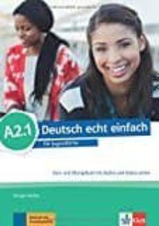 deutsch echt einfach! a2.1 alum+ejer-9783126765282