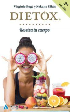 dietox castellano: resetea tu cuerpo-virginie roge  roche-nekane ullan eceiza-9788497358439