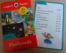 flashcards. all picture words. level 4 (ladybird)-9780241293584