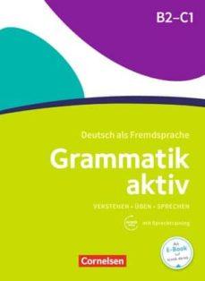 grammatik aktiv b2-c1: ejercicios + audio mp3-9783060214822