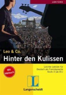 hinter den kulissen (a2-b1) (incluye audio-cd)-9783126063975