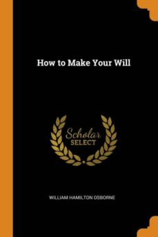 how to make your will-9780341659167