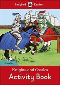 knights and castles activity book - ladybird readers level 4-9780241284377