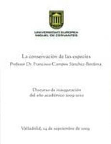 la conservacion de las especies-francisco campos sánchez-bordona-9788493593797