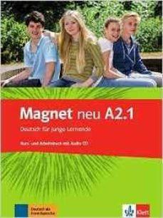 magnet neu a2.1: alumno + ejercicios + cd-9783126761307