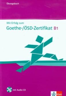 mit erfolg zum goethe-zertifikat : cahier d exercices (1cd audio)-9783126758505