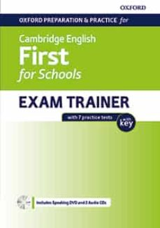 oxford preparation and practice for cambridge english b2. first (fce) for schools exam trainer with key + dvd and 2 cd-9780194115209