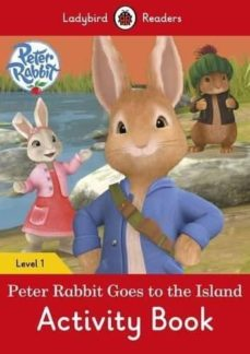 peter rabbit: goes to the island activity book - ladybird readers level 1-9780241254240