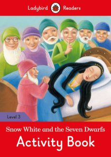 snow white and the seven dwarfs activity book- ladybird readers level 3-9780241319697