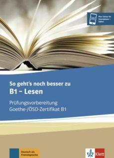 so geht s noch besser zu b1  lesen alumn-9783126755870