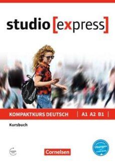 studio express a1- a2 - b1: libro de curso-hermann funk-christina kuhn-9783065499705