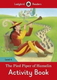 the pied piper activity book - ladybird readers level 4-9780241253731