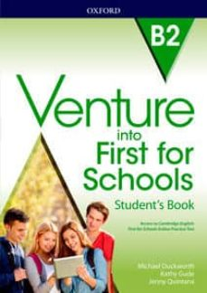 venture into first for scools studen´t book (b2)-9780194114998