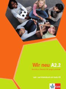 wir neu a22 ejercicios+cd-9783126758765