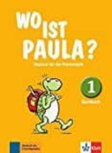 wo ist paula? 1 alumno-9783126052801