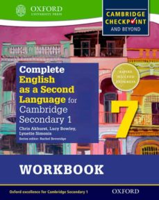 complete english as a second language for cambridge secondary 1 workbook 7 & cd-9780198378150