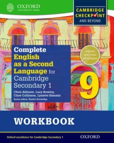 complete english as a second language for cambridge secondary 1 student workbook 9 & cd-9780198378174