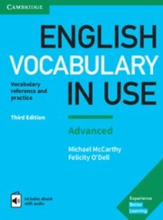 english vocabulary in use (3rd edition) advanced book with answers & enhanced ebook-michael o´dell, felicity mccarthy-9781316630068