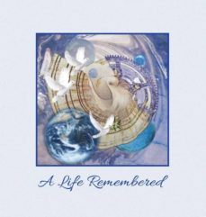 a life remembered funeral guest book, memorial guest book,  condolence book, remembrance book for funerals or wake, memorial service guest book-9780995651678
