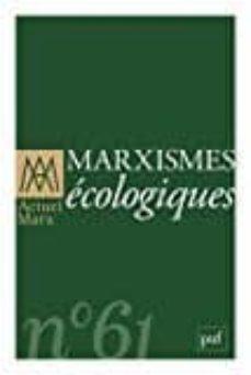 actuel marx nº 61: marxismes ecologiques-9782130787822