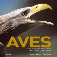 aves: guia ilustrada de las aves de españa y de europa-rob hume-peter hayman-9788480767811
