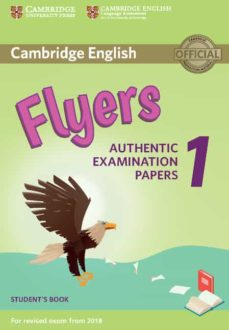 cambridge english young learners english tests (2018 exam) flyers 1 student s book-9781316635919