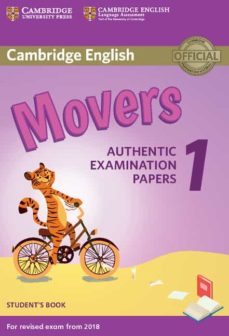 cambridge english young learners english tests (2018 exam) movers 1 student s book-9781316635902