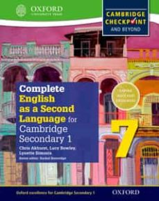 complete english as a second language for cambridge secondary 1 student book 7 & cd-9780198378129