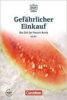 die daf-bibliothek a2-b1 - gefährlicher einkauf: erpressung in berlin-kreuzberg. lektüre. mit mp3-audios als download-9783061207557