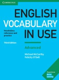 english vocabulary in use (3rd edition) advanced book with answers-9781316631171