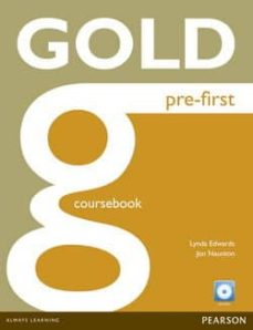 gold pre-first coursebook and cd-rom pack-9781292159546