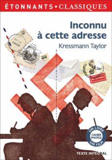 inconnu à cette adresse (cycle 4 - 3e)-kathrine kressmann taylor-9782081408616