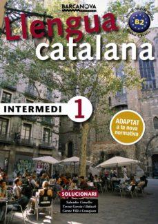 intermedi 1. solucionari. català per a adults-salvador comelles-9788448943585