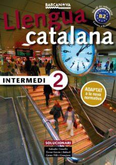 intermedi 2. solucionari. català per a adults-salvador comelles-9788448943608