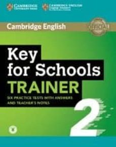key for schools trainer 2 (with answers)-9781108401678