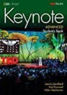 keynote advanced student s ebook (internet access code)-9781305880580