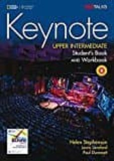 keynote upper intermediate student s book combo b with dvd-rom and audio cd-9781337561310