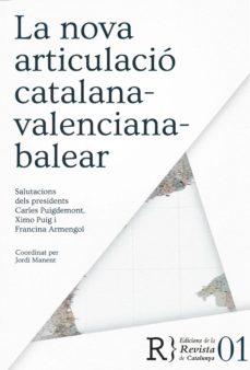 la nova articulació catalana-valenciana-balear-jordi manent-9788469733967