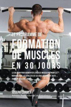 le programme de formation de muscles en 30 jours-9781941525814