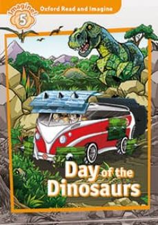 oxford read and imagine 5. day of the dinosaurs (+ mp3)-9780194021180