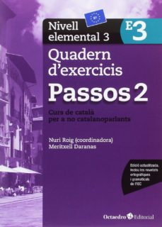 passos 2 nivell elemental 3. quadern d exercicis (e3)-nuria roig-9788499219653