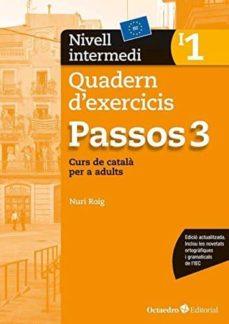 passos 3. nivell intermedi quadern d exercicis (i1)-nuria roig-9788499219684