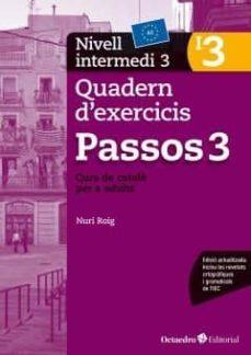 passos 3. nivell intermedi quadern d exercicis (i3)-nuria roig-9788499219707