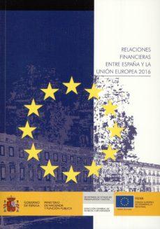 relaciones financieras entre españa y la union europea 2016-9788447608782
