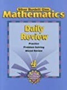 sbg math daily review pe gr 4-9780382373190
