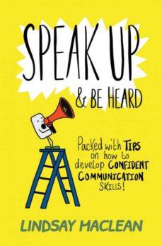 speak up and be heard-9781999336509
